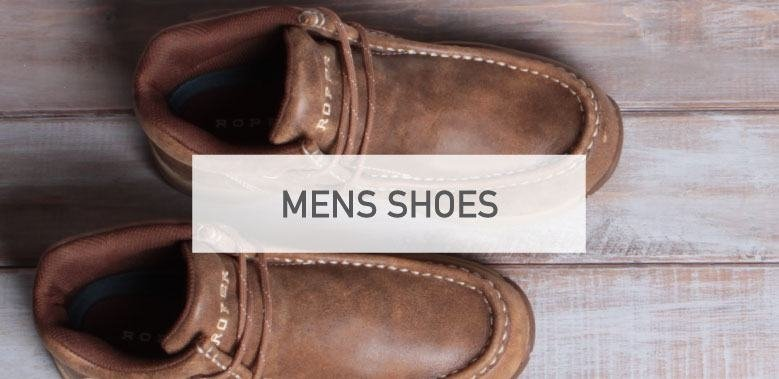 Mens Western Shoes
