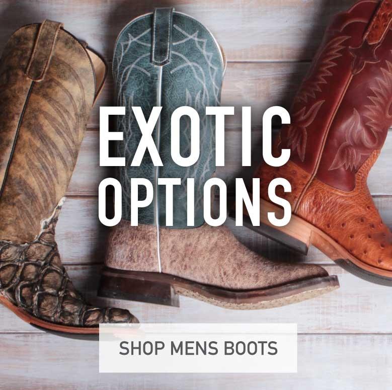 Mens Exotic Boots