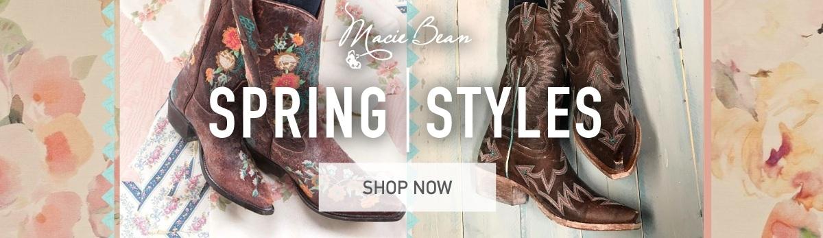 Macie Bean Cowgirl Boots