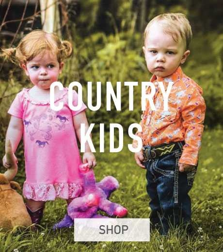 Kids Western Country Clothing