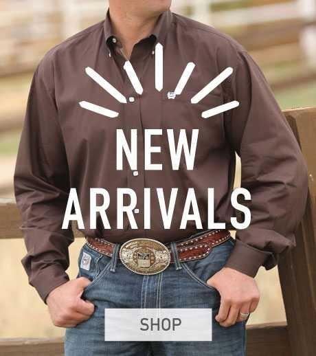 New Mens Western Wear Arrivals