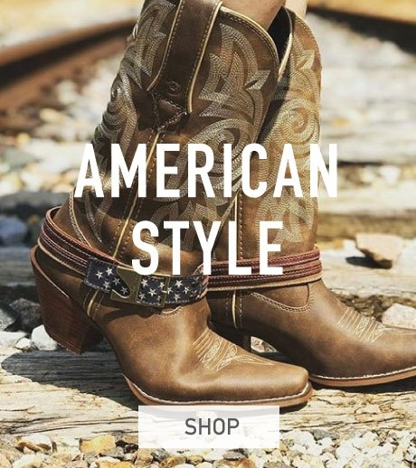American Patriotic Clothing and Boots