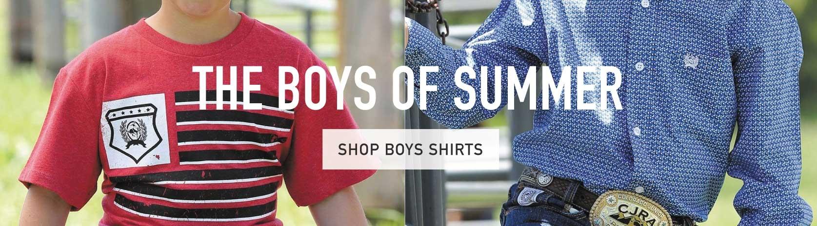 Boys Western Summer Shirts