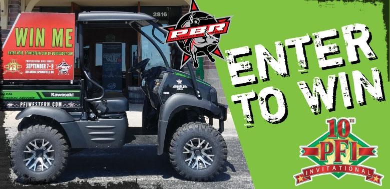 Kawasaki 4x4 Mule Contest Giveaway