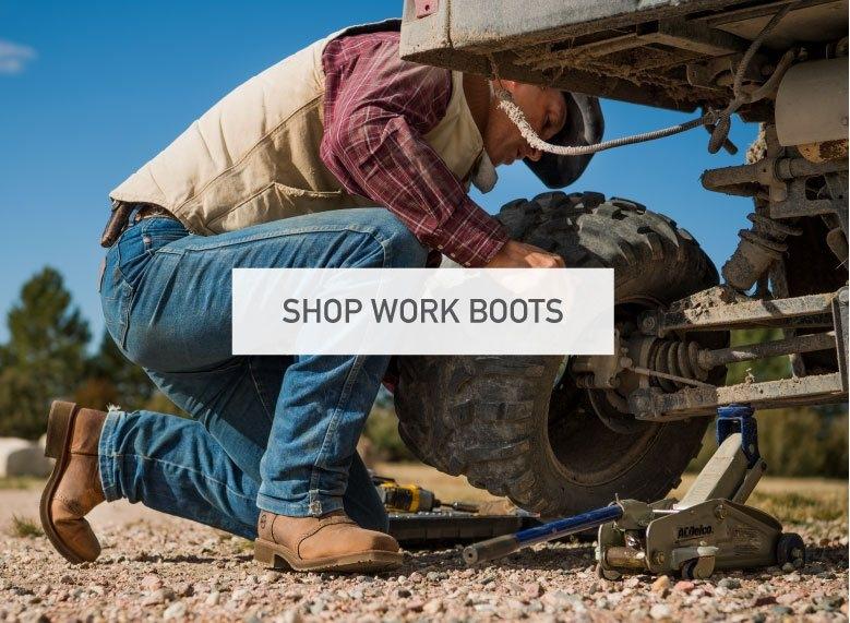 Mens Cowboy Work Boots