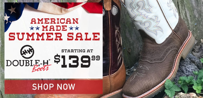 Double H American Made Cowboy Boots