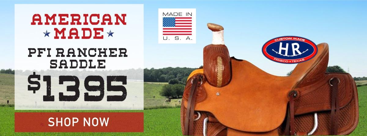 PFI rancher saddle HR