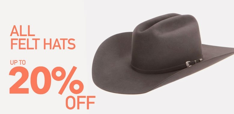 All Felt Cowboy Hats on Sale