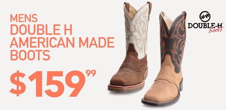 American Made Double H Work Boots
