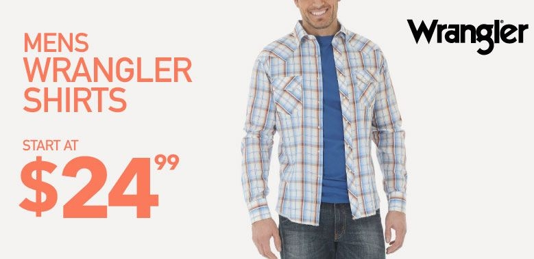 Mens Wrangler Shirts