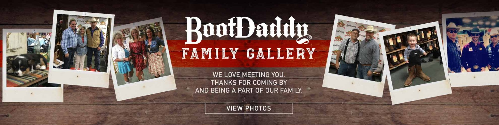 BootDaddy Family Gallery