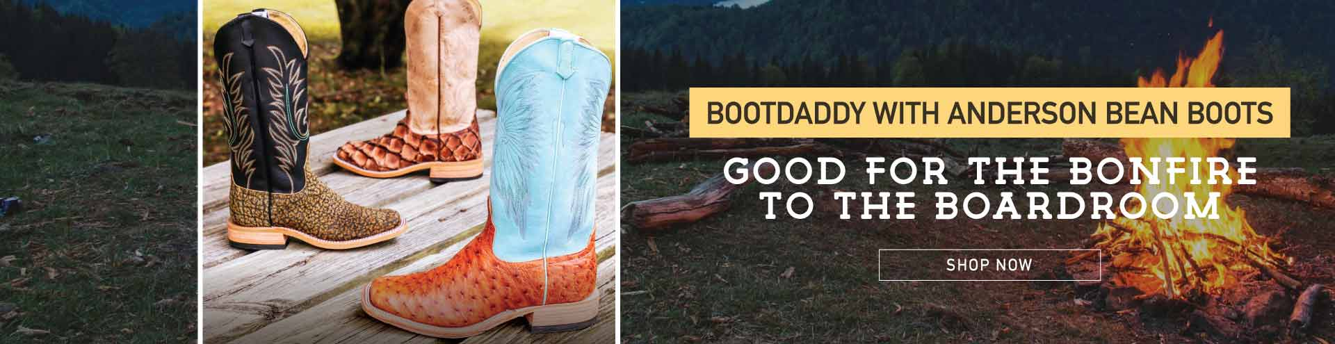 bootdaddy anderson bean boots