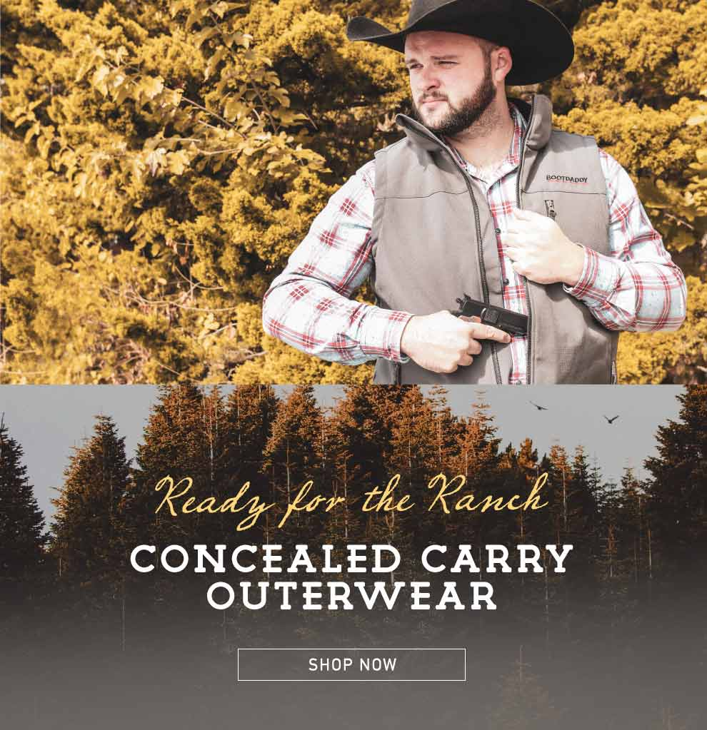 concealed carry outerwear