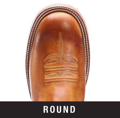 Men's Round Toe Cowboy Boot