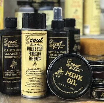 Men's Boot Care Products