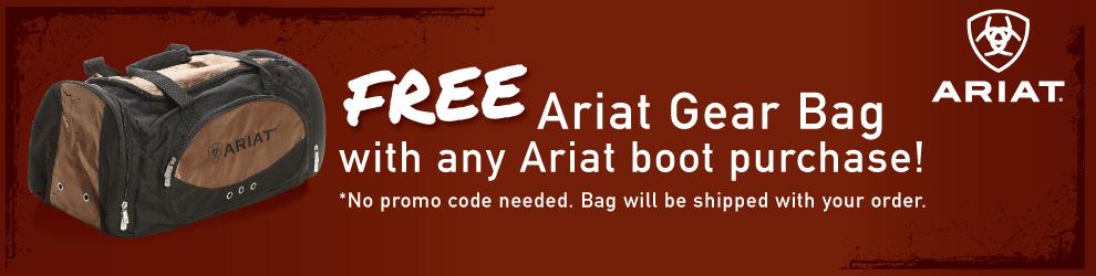 Free Ariat Boot Bag