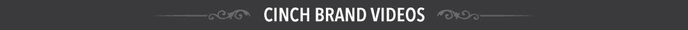 cinch brand videos