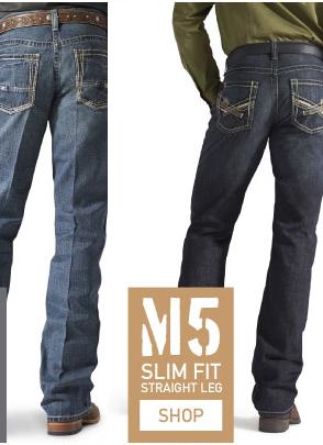 M2, M4, M5 Ariat Jeans