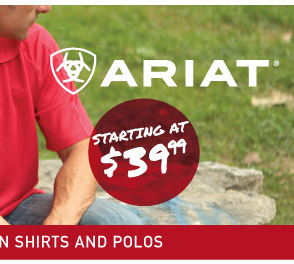 Ariat Shirts and Polos