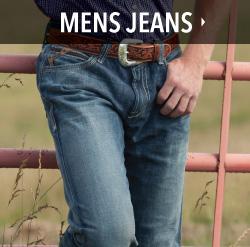 mens western jeans
