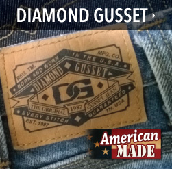 american made diamond gusset jeans