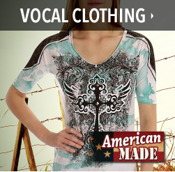 american made vocal clothing