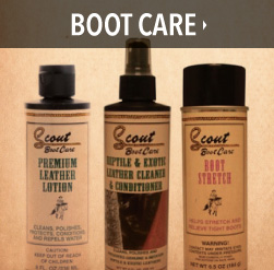 boot care products