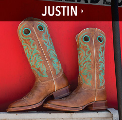 mens bootdaddy collection with justin boots