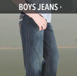 boys western jeans