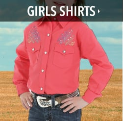 little girls western shirts