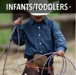 infant and toddler western clothing