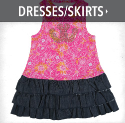girls western dresses and skirts
