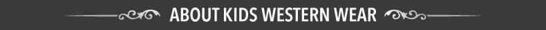 about kids western wear
