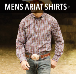 mens ariat shirts