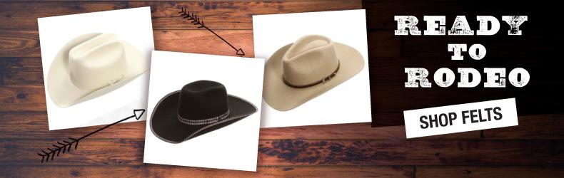 fall felt cowboy hats