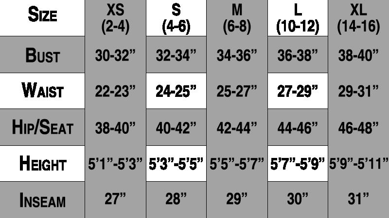 Womens Jacket Size