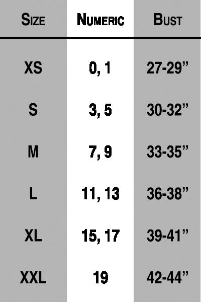 Womens Shirt Size